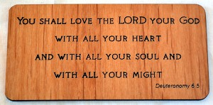 You Shall Love The Lord