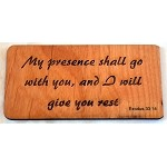 My Presence, Wooden Magnet