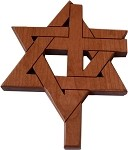 Magen David and Cross blend